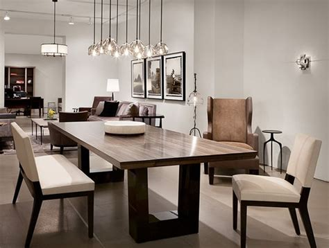 Contemporary Dining Room. Love The Modern Wood Dining