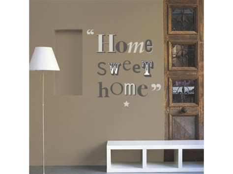stickers muraux lettres d 233 co stickers home sweet home vente de stickers muraux