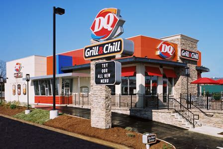dairy queen launching  grill chill restaurant
