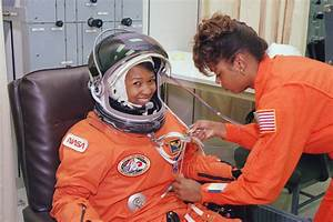 Astronaut Mae Jemison, the first African-American woman to ...