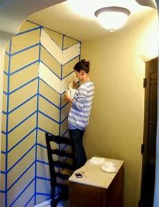 Best 25+ Chevron painted walls ideas on Pinterest ...