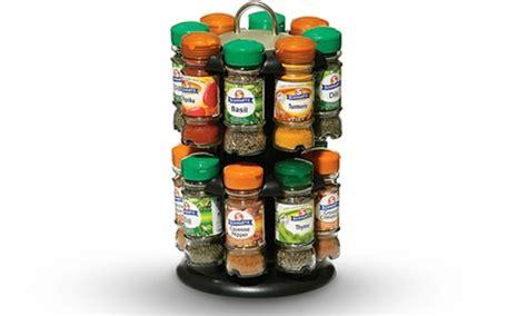 Schwarz Spice Rack by Schwartz Spice Rack With 16 Spices Groupon Goods