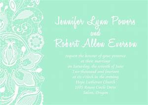 doves wedding invitations blue background matik for With wedding invitation background designs mint green