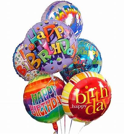 Balloons Birthday Happy Bouquet Wonderful
