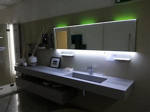 awesome miroir salle de bain led contemporary awesome With miroir led salle de bain aubade