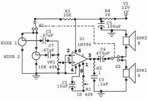 Circuit Diagram  Door Phone