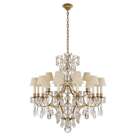 ralph chandelier antoinette medium chandelier in brass and