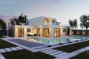 Maison moderne top maison for Photo maison moderne