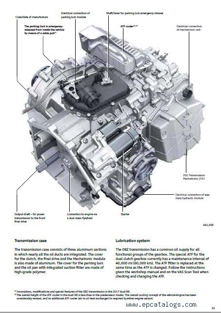 audi  cars   factory service manual