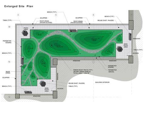 green roof plan t e r r a f l u x u s 187 roof gardens