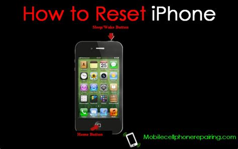 how to clear my iphone how to reset iphone soft reset and reset