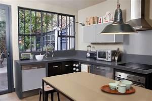 Cuisine Couleur Aubergine : meuble cuisine couleur aubergine stunning fabulous ~ Premium-room.com Idées de Décoration