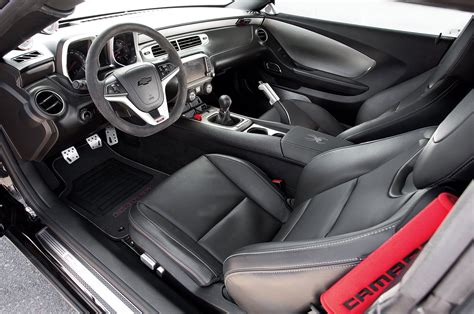 Camaro 2013 Interior by 2013 Camaro 1le Puts 800 Supercharged Horsepower All
