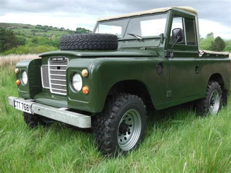 1983 land rover series iii information and momentcar
