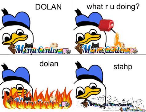 Dolan Duck Meme - dolan burns memecenter by dante13 meme center