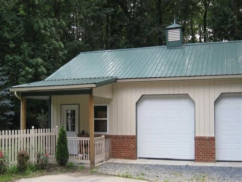 Pole Barn Garage With Living Quarters  Barn Designs