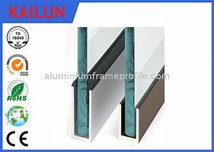 Profilé Alu Anodisé En U : aluminium u channel for glass fence railing anodized ~ Edinachiropracticcenter.com Idées de Décoration
