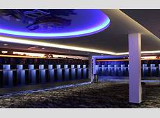 Neoti Adds Wow Factor to Revamped Locker Rooms at
