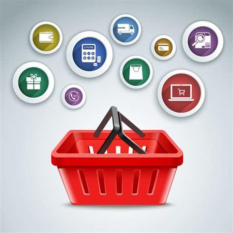 shopping background design  vector