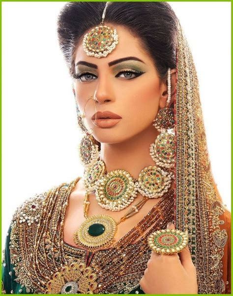 amazing  gorgeous pakistani bridal makeup pictures top pakistan