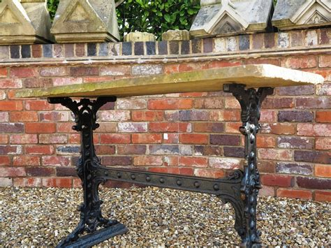 wood tables for reclaimed cast iron garden table with top 7821 7821