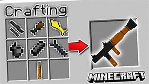 CRAFTING 3D GUNS IN MINECRAFT   Minecraft Mods (3D Guns ...
