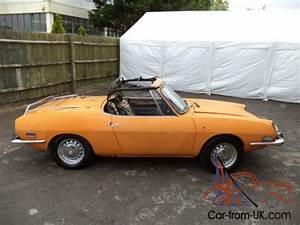 Fiat 850 Sport Spider Convertible 1973 Orange Rare