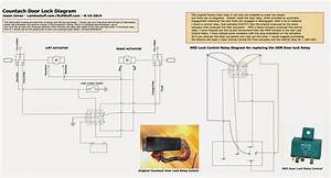 5 Wire Door Lock Relay Diagram