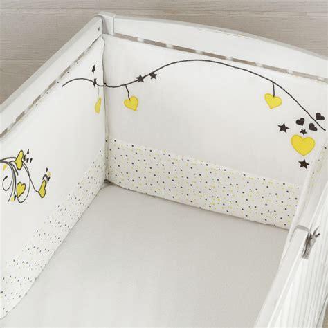 dimension tour de lit bebe tour de lit b 233 b 233 fille r 233 versible en 100 coton kinousses