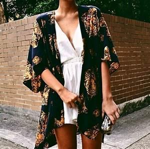 Blouse kimono lion leo dark blue dress jacket shawl black gold tiger tiger shawl ...