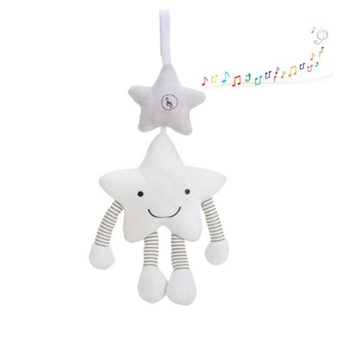 Rattle Chime baby bed hanging rattle white wind chime