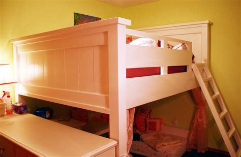 futon design white farmhouse loft bed for mattress not