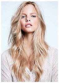 Long-Layered Blonde Hair
