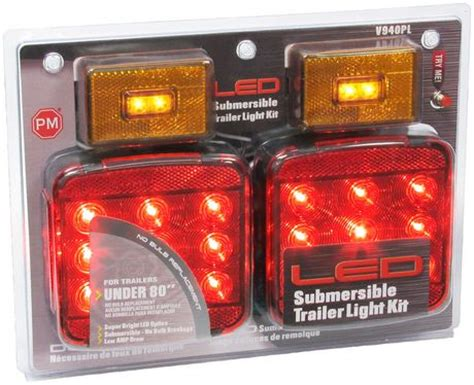 Led Boat Lights Walmart by Peterson Led Trailer Light Kit Walmart Canada