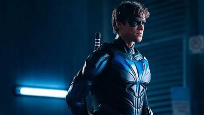 Nightwing Titans Suit Season Enter