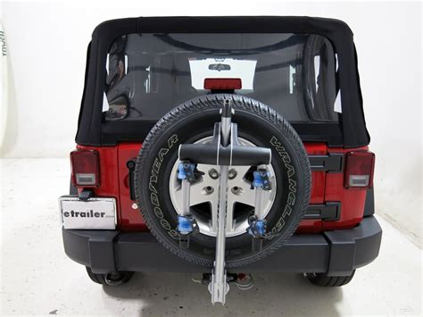 jeep wrangler bike rack jeep wrangler thule helium aero 2 bike rack 1 1 4 quot and 2