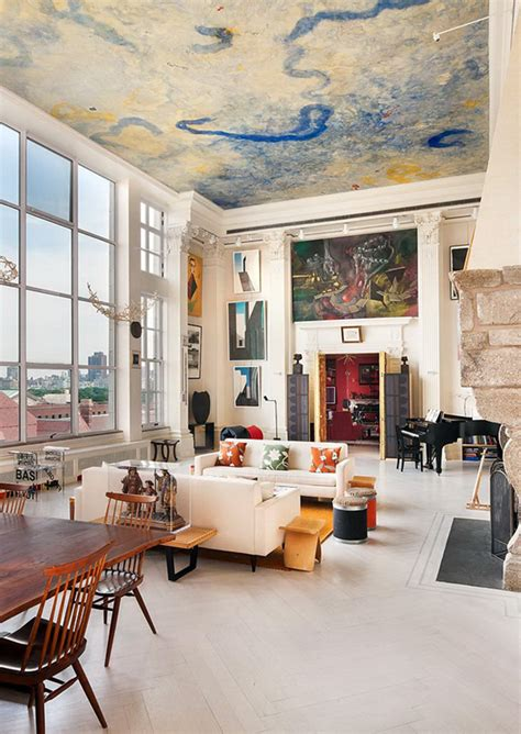 New York Loft Adorned By Fascinating Art Collection Worth
