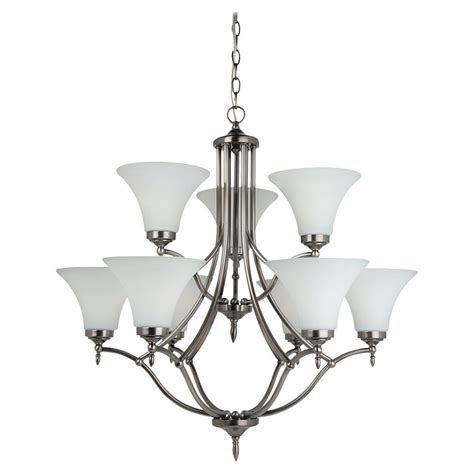 vintage white chandelier hton bay heritage antique white chandelier the home 3267