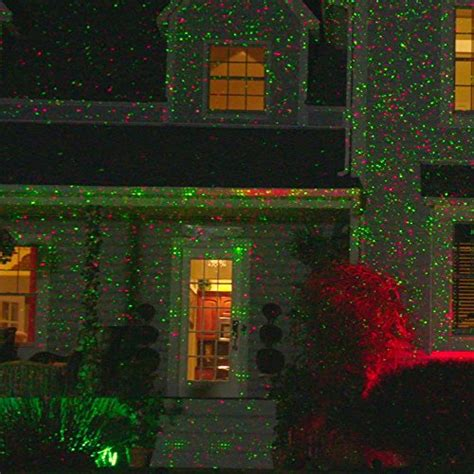 night stars christmas lights star night laser shower christmas lights red green