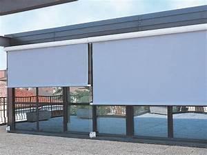Store De Balcon Sans Fixation : store ext rieur enrouleur coffre avec guide profil ~ Edinachiropracticcenter.com Idées de Décoration