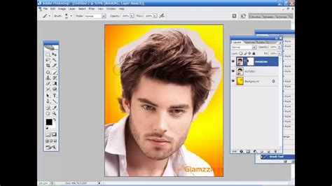 photoshop tutorial hair cut methods  tamil training