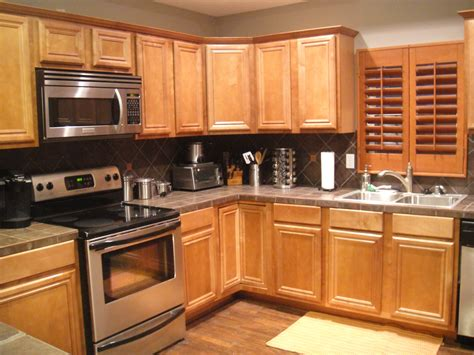 kitchen colors with oak cabinets kitchen color ideas with light oak cabinet collections