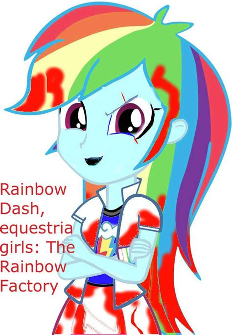 MLP Equestria Girls Rainbow Factory Creepypasta