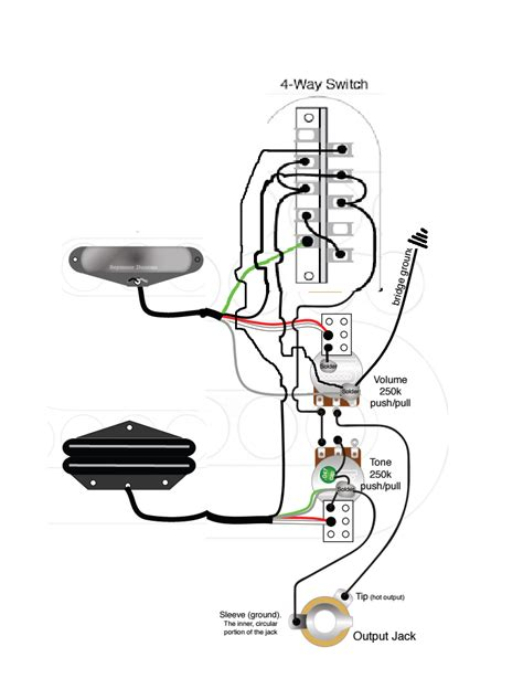 Tele Hot Rails Wiring Help Way Switch Push Pull
