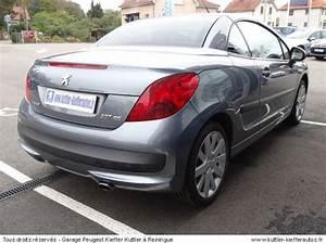 Peugeot 207 Cc Occasion : peugeot 207 cc 1 6l vti 120cv sport 2007 occasion auto peugeot 207 cc ~ Gottalentnigeria.com Avis de Voitures
