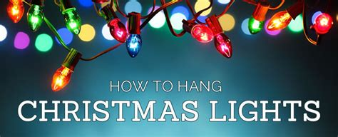 how to hang christmas lights christmas designers