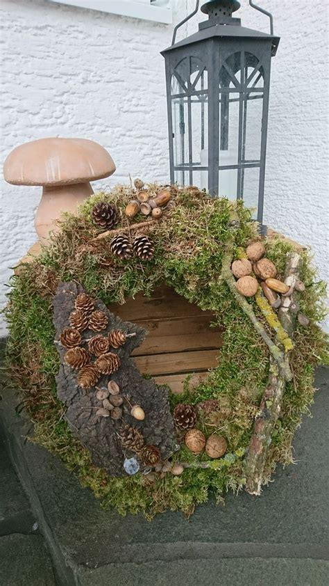 Adventsschmuck Selber Machen by Diy Kranz Moos Winter Kr 228 Nze Selber Machen Herbst