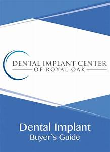 Free Dental Implant Buyer U2019s Guide