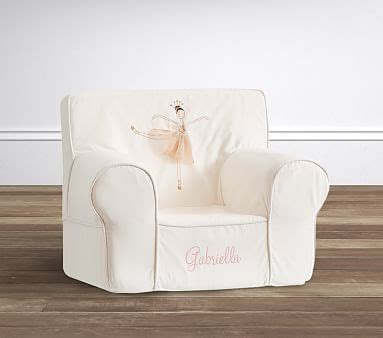 ruffle anywhere chair slipcover only ballerina icon anywhere chair slipcover only