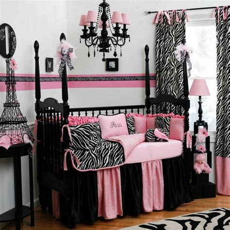 Pink Zebra Accessories For Bedroom by Interior Architecture Black And White Zebra Crib